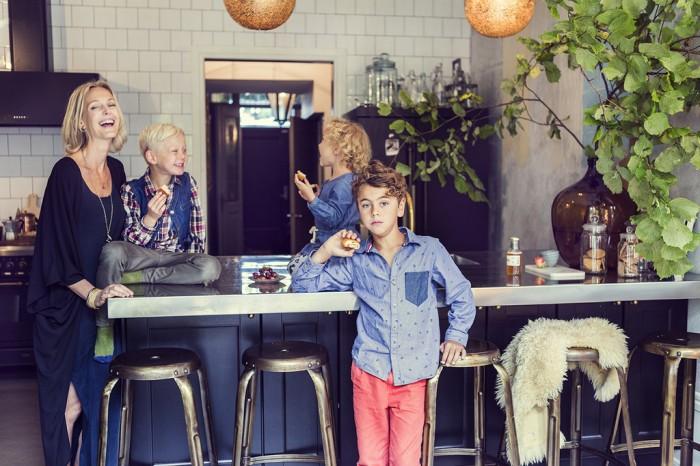 Malin Persson med barn