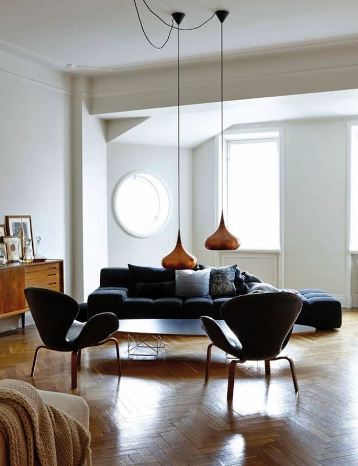 HM Homes designchef Kravaev-Söderberg, vardagsrummet