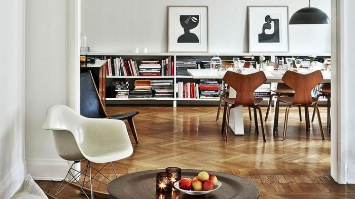 HM Homes designchef Kravaev-Söderberg, glimt av matsal