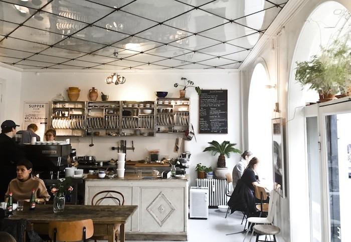Café Atelier september i Köpenhamn