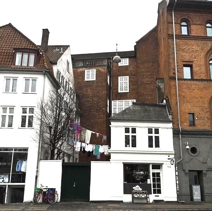 Köpenhamn och tvätt på tork