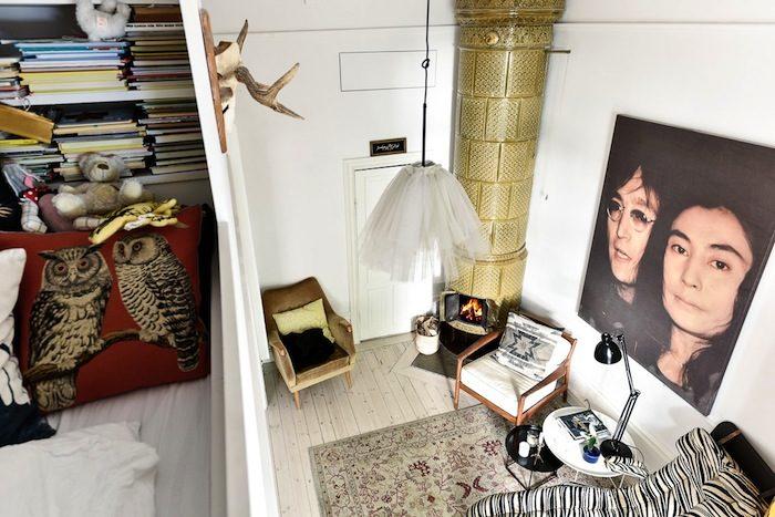 Anna Zethraeus lägenhet med smarta sovloft