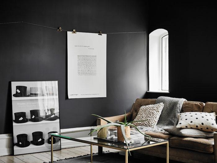 hänga tavlor med klämmor och snöre
