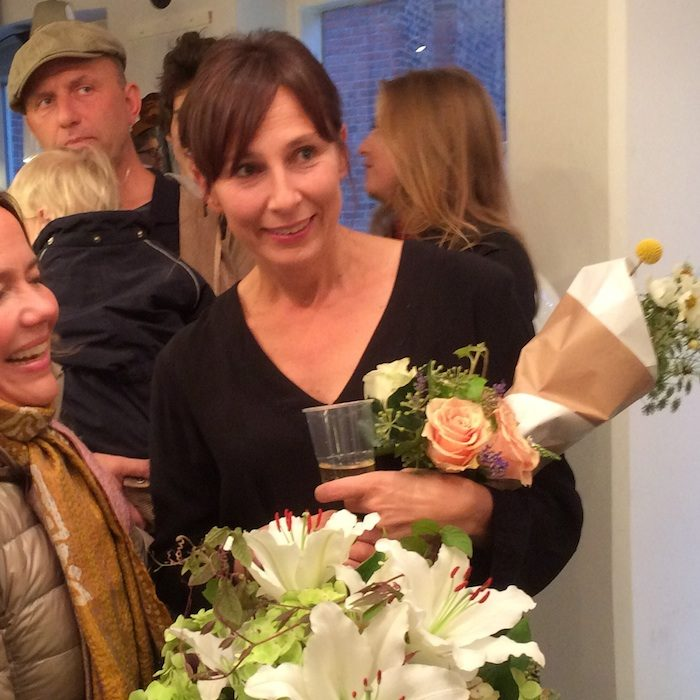 Vernissage Moments, Karin Wiberg, Ida Magntorn, Zimmerdahls galleri